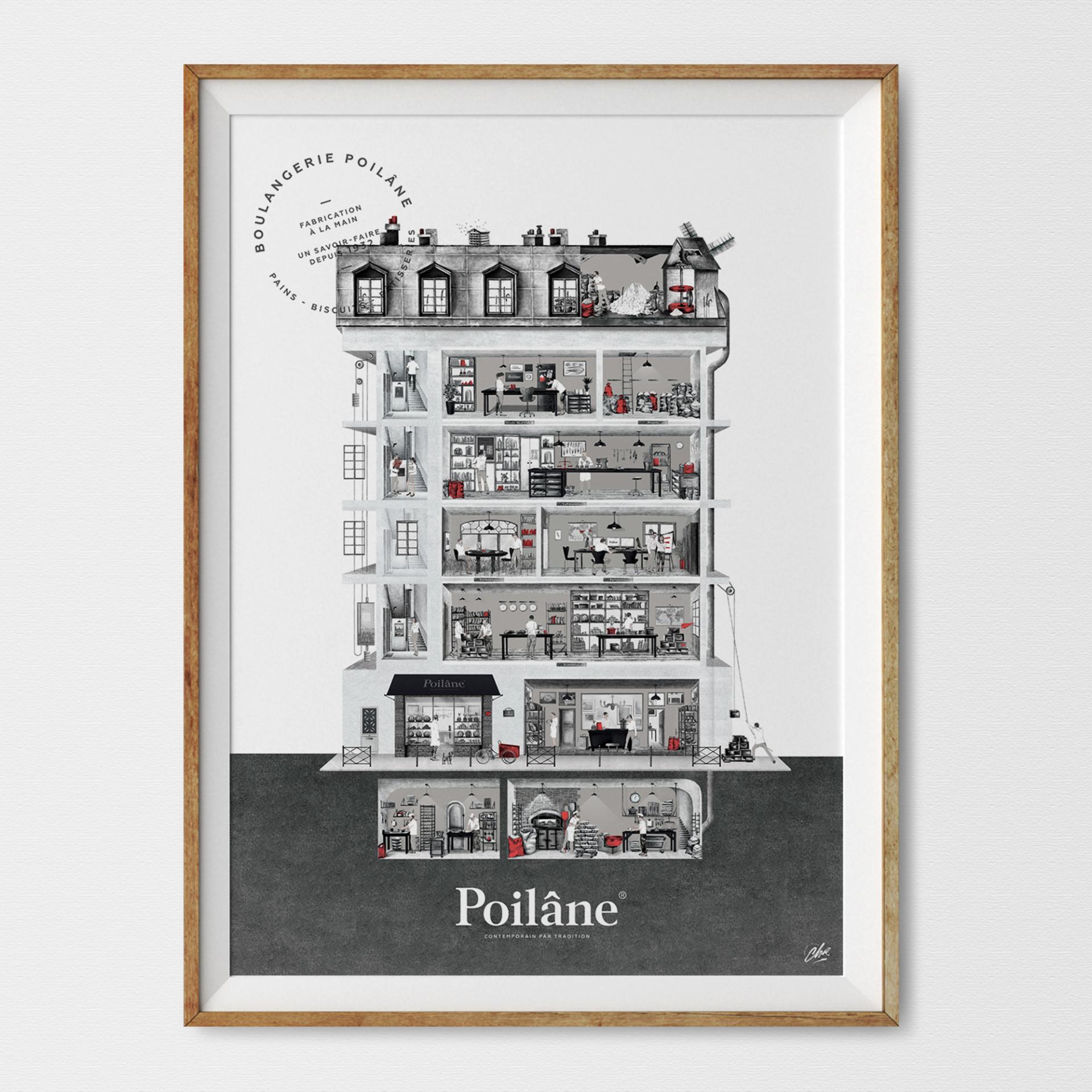 Lithographie Poîlane – 8 rue du Cherche Midi